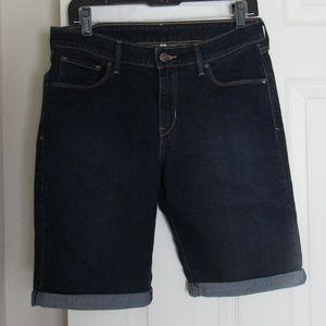 Levi's Bermuda Shorts Jeans Denim Blue Size 29